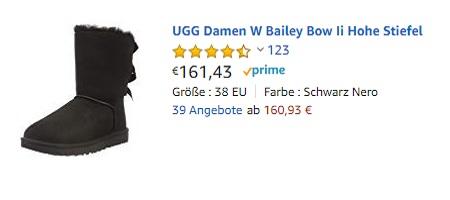 UGG Damen W Bailey Bow Ii Hohe Stiefel